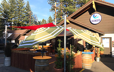 The Runoff at Tahoe Cold Water Brewery Tahoe